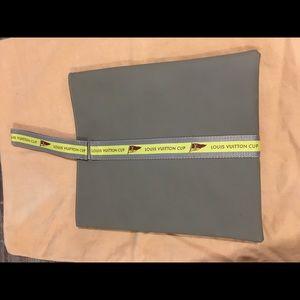 Authentic louis vuitton rubber  pouch